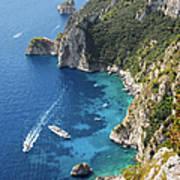 Beautiful Capris Sea Art Print