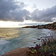 Beautiful Laguna Coast After Sunset Art Print