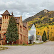 Beautiful Small Town Rico Colorado Art Print