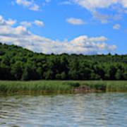 Beaver Lodge On Southern Lake Champlain New York Art Print
