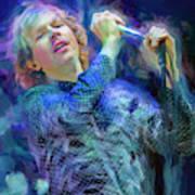 Beck Singer Songwriter Art Print