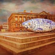 Belfast Big Fish Art Print