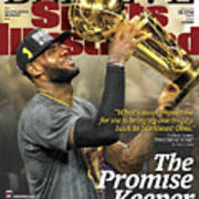 Believe The Promise Keeper Sports Illustrated Cover Art Print