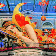 Bellagio Conservatory Falling Asleep Display Wide 2018 2.5 To 1 Aspect Ratio Art Print