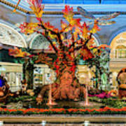 Bellagio Enchanted Talking Tree Ultra Wide 2018 2 To 1 Aspect Ratio Art Print