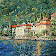Bellano on Lake Como Art Print