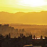 Bellevue Eastside Morning Light Atmosphere Art Print