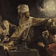 Belshazzar S Feast  Art Print