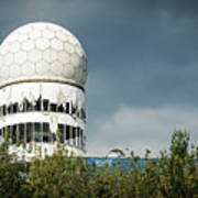 Berlin - Teufelsberg Listening Station Art Print