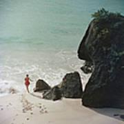 Bermuda Beach Art Print