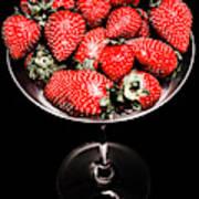 Berry Tonic Art Print