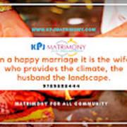 Best Matrimony In Chennai Art Print
