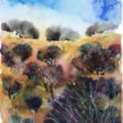 Beyond The Hills Art Print
