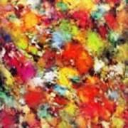 Big Colour Storm Art Print