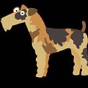Big Fox Terrier Art Print