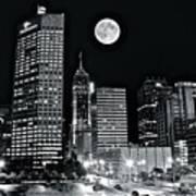 Big Moon Indianapolis 2019 Art Print