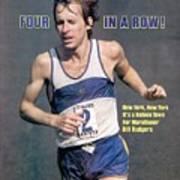 Bill Rogers, 1979 New York City Marathon Sports Illustrated Cover Art Print