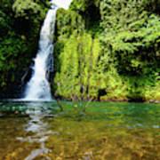 Bioko Waterfall Art Print