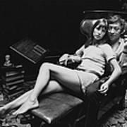 Birkin And Gainsbourg Art Print
