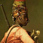 Black Bashi Bazouk 1868 69 Art Print