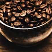 Black Coffee, No Sugar Art Print