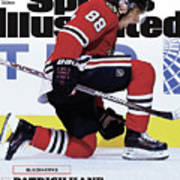 Blackhawks Patrick Kane The Nehls Best Player Has Arrived - Sports Illustrated Cover Art Print