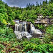 Blackwater Falls, Blackwater Falls State Park, West Virginia Art Print