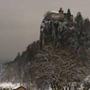 Bled Castle Art Print