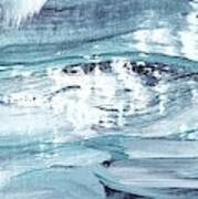 Blue #12 Art Print