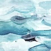 Blue #14 Art Print