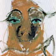 Blue Eyed Man Art Print
