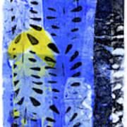 Blue Garden 1 Art Print
