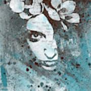 Blue Hypothermia Art Print