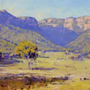 Bluffs Of The Capertee Valley Art Print