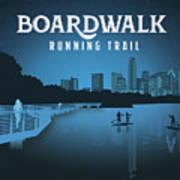 Boardwalk Running Trail Art Print