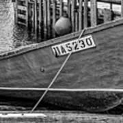 Boat At Fisherman's Cove Art Print