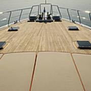 Boat Deck Art Print