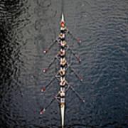 Boat Race Art Print
