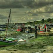 Boats At Leigh On Sea  Art Print