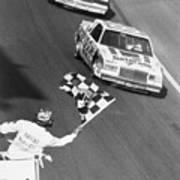 Bobby Allison Finishing Daytona 500 Art Print