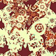 Boho Butterflies Art Print