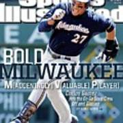 Bold Milwaukee Maddeningly Valuable Player Sports Illustrated Cover Art Print