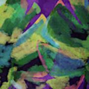 Bold Tropical Dreams- Art By Linda Woods Art Print