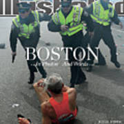 Boston Bombing Sports Illustrated Cover Art Print