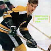 Boston Bruins Bobby Orr, 1970 Nhl Eastern Division Sports Illustrated Cover Art Print