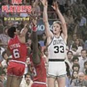 Boston Celtics Larry Bird, 1980 Nba Eastern Conference Sports Illustrated Cover Art Print
