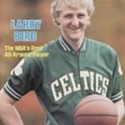 Boston Celtics Larry Bird, 1981 Nba Preview Sports Illustrated Cover Art Print