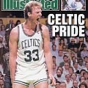 Boston Celtics Larry Bird, 1987 Nba Eastern Conference Sports Illustrated Cover Art Print