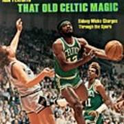 Boston Celtics Sidney Wicks, 1977 Nba Eastern Conference Sports Illustrated Cover Art Print