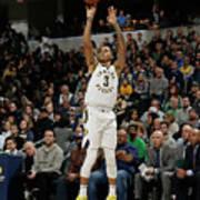 Boston Celtics V Indiana Pacers Art Print